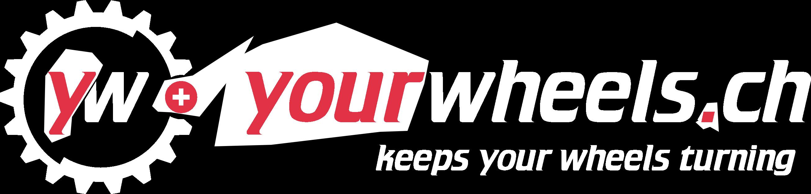 Logo yourwheels white